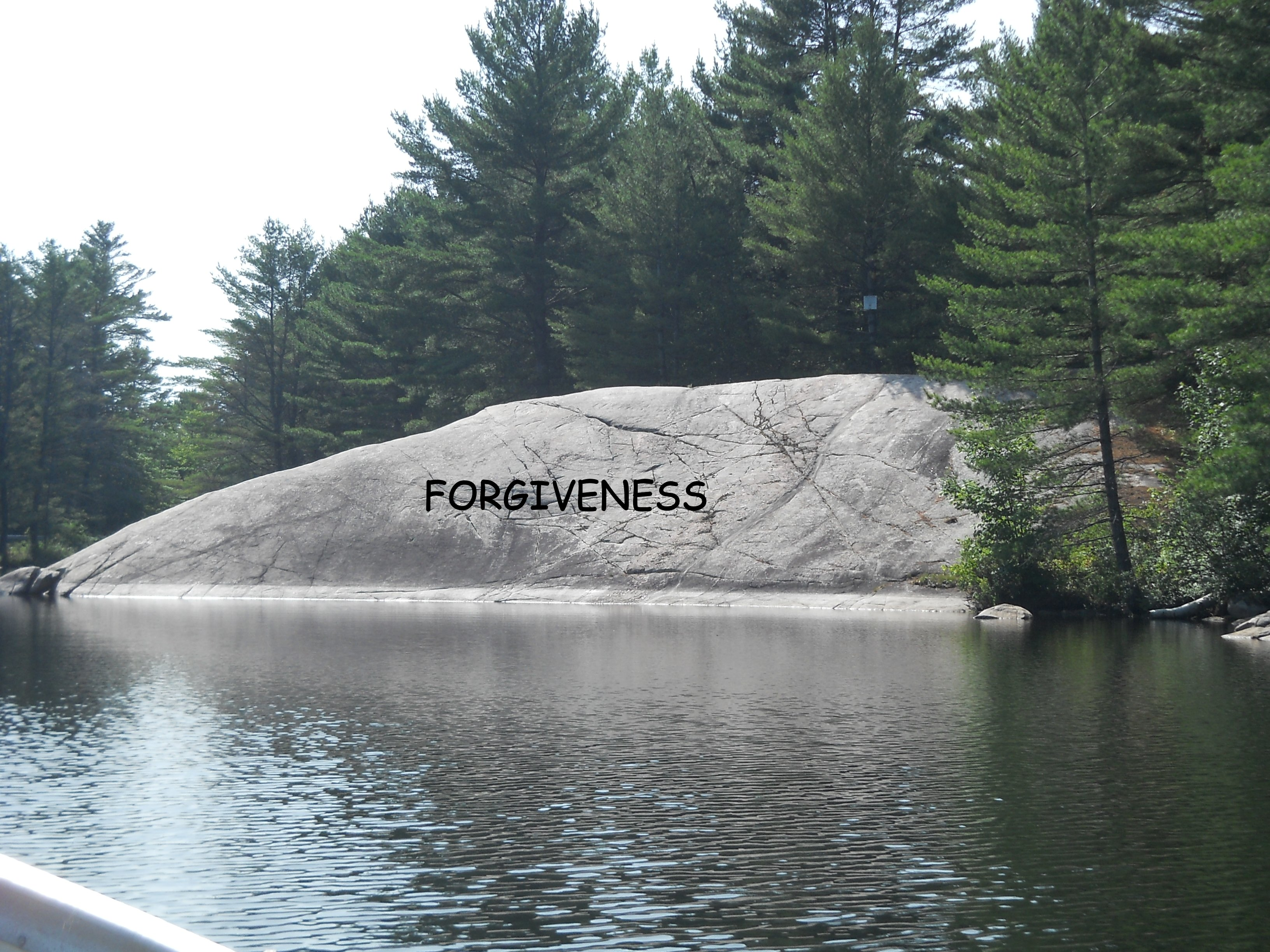 FORGIVENESS ? a BIG one for many people