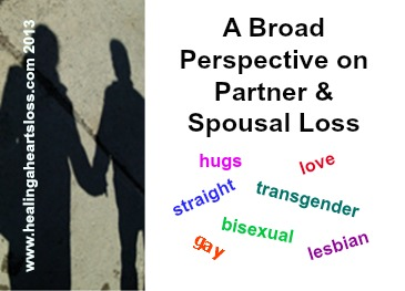 Partner & Spousal Loss from a Broad Perspective