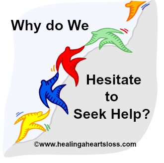 Why do We Hesitate to Seek Help?