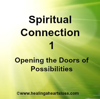 Spiritual Connection 1… Introduction… opening the doors of possibilities.
