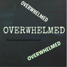 Getting Overwhelmed
