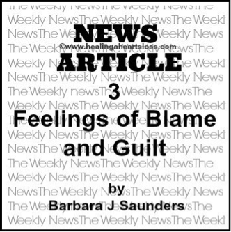 Feelings of Blame and Guilt