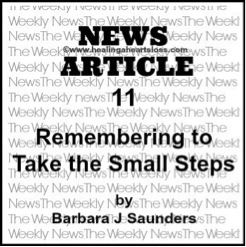 Remembering to Take the Small Steps