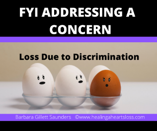 "Addressing a concern stated about a previous article ""Loss Due to Discrimination"