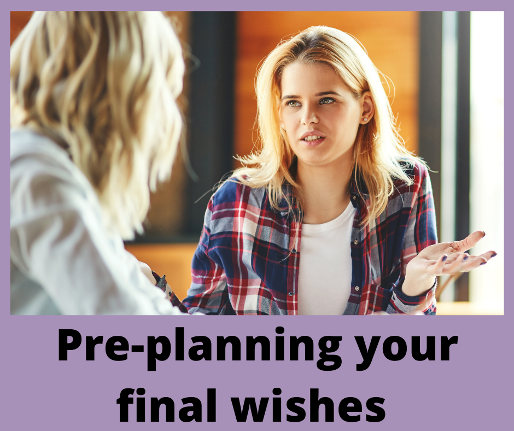 Pre-planning your funeral from a grief perspective